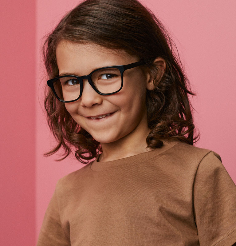 Dobbelt op på børnebriller hos Smarteyes