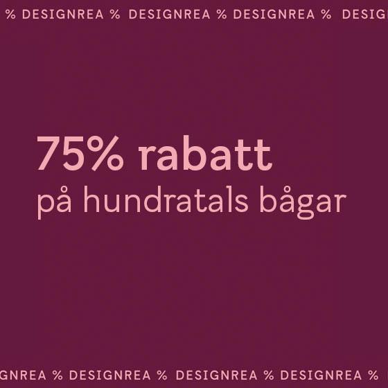 75% rabatt på hundratals bågar