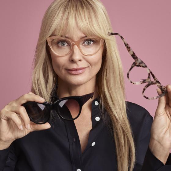 Prenumerera på glasögon, från 90 kr i månaden.