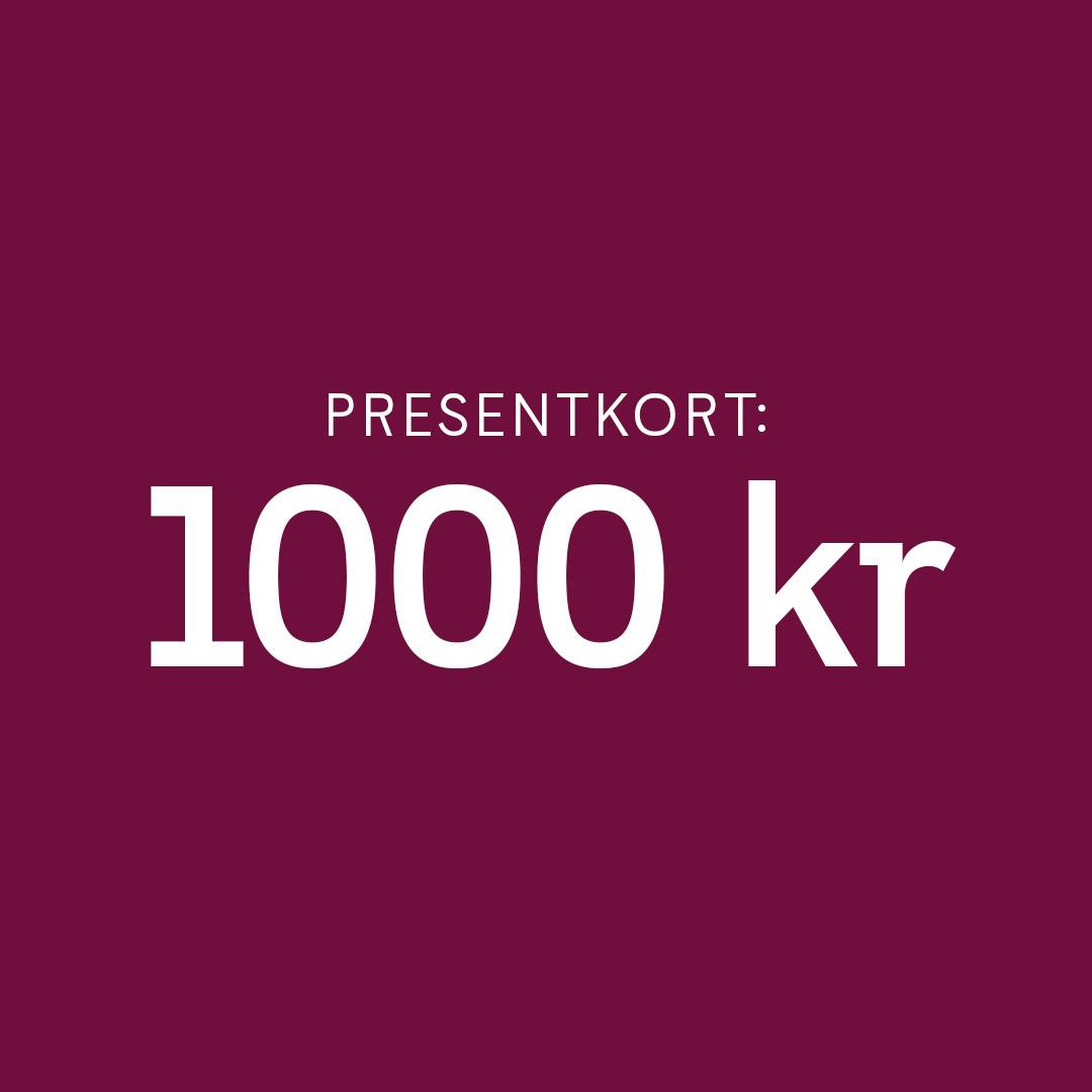 Presentkort Smarteyes 1000 kr