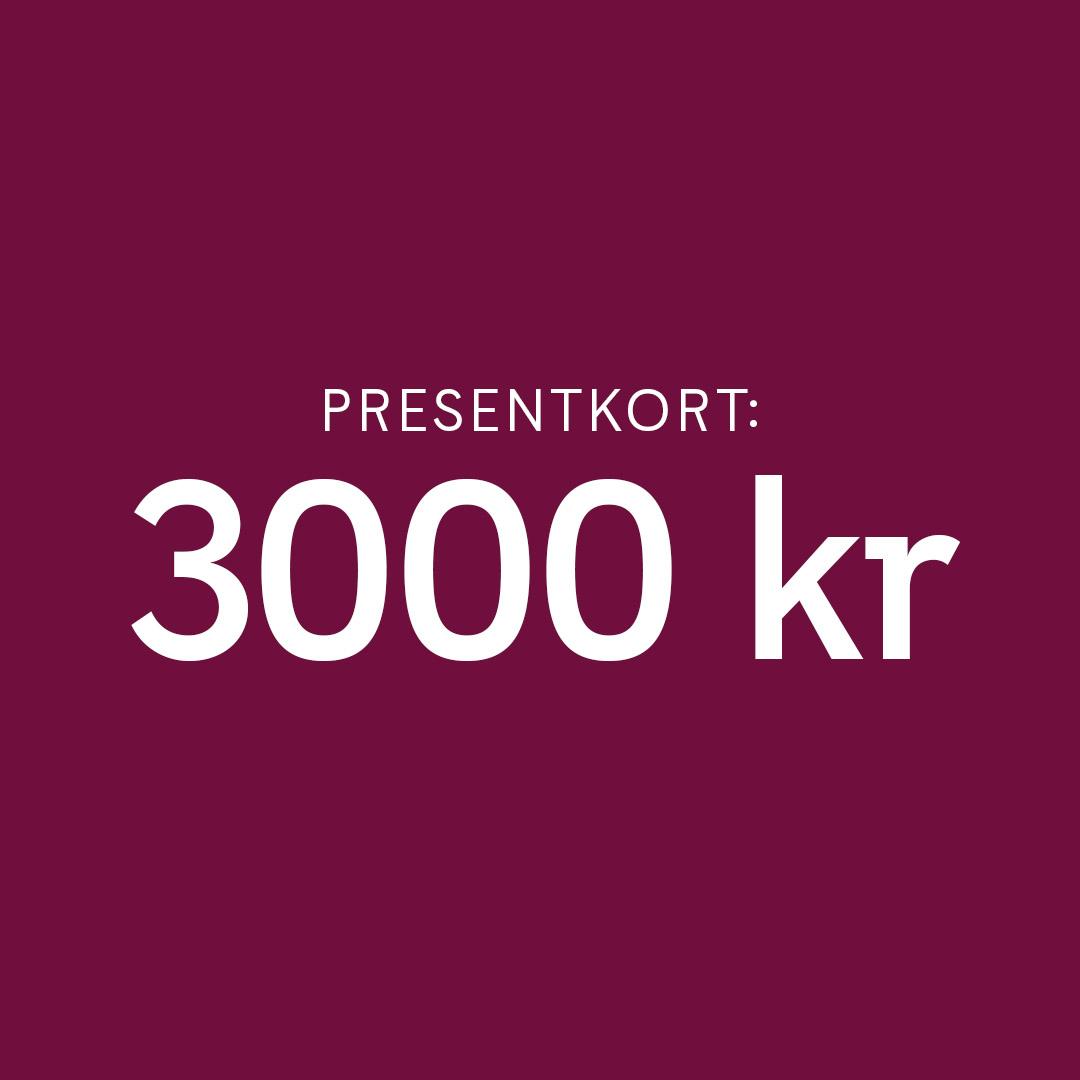 Presentkort Smarteyes 3000 kr