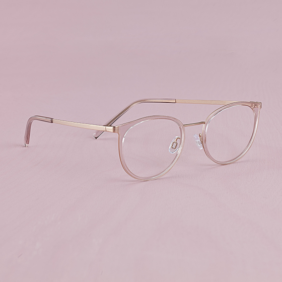 Blush brille Second Skin Collection by Smarteyes
