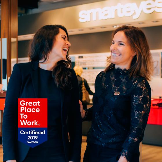 En av Sveriges bästa arbetsplatser 2018