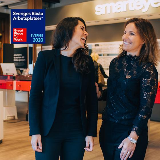 Sveriges tredje bästa arbetsplats 2020
