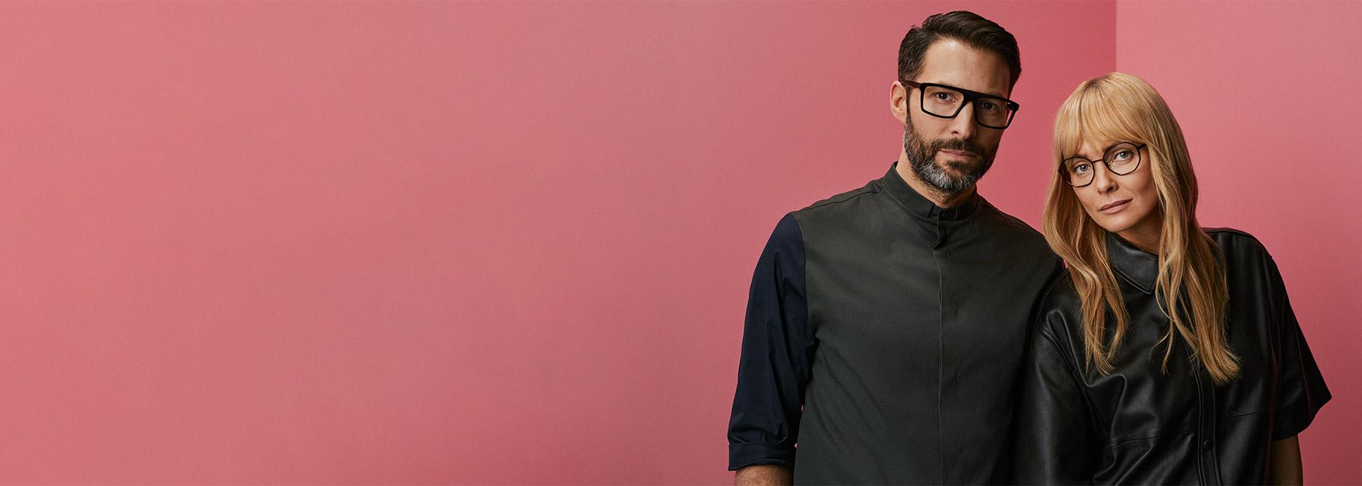 Glasögonbågar för alla stilar