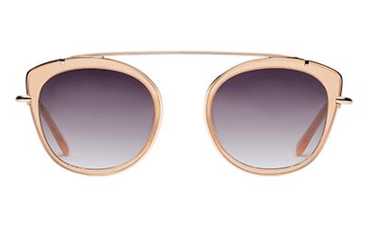 Boheme solbrille i naturfarver