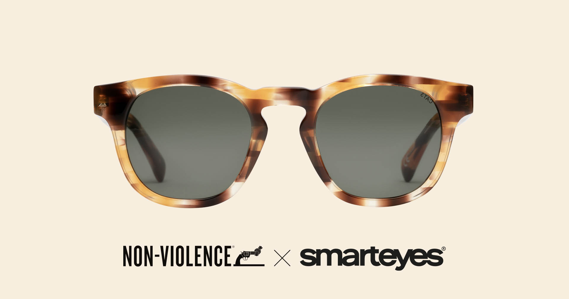 Non-Violence Sun Collection by Smarteyes