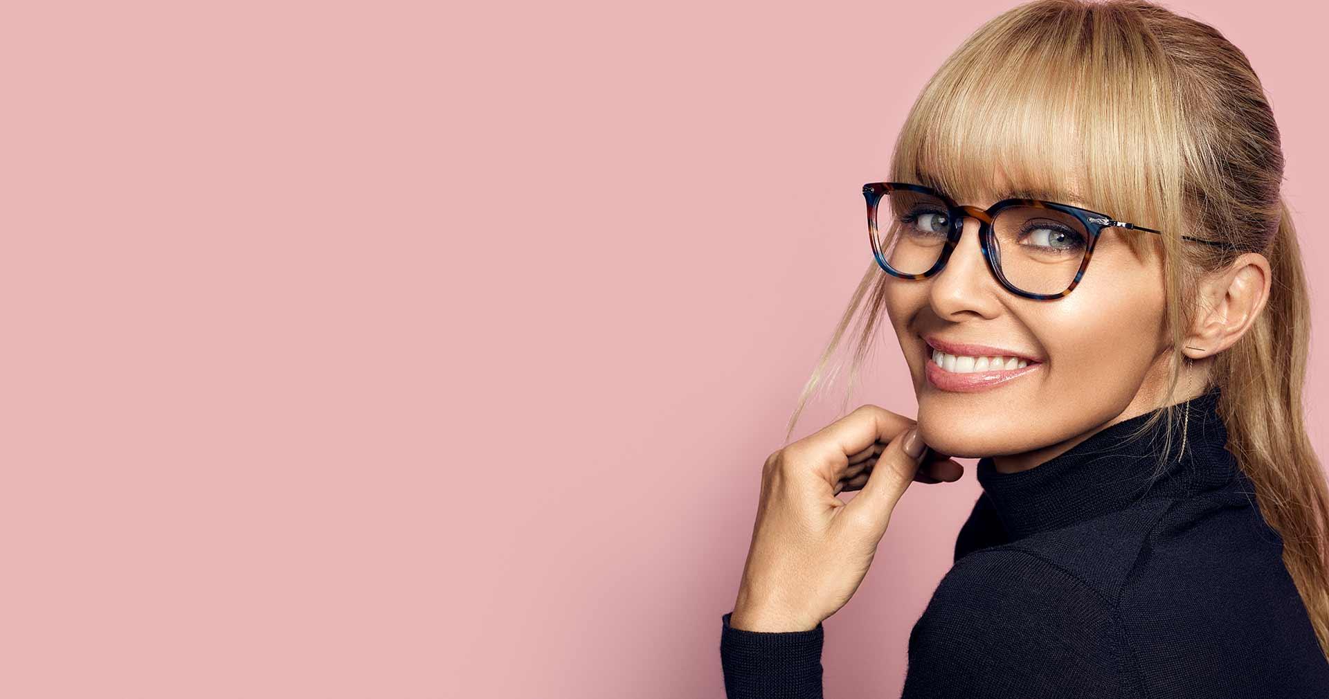 Designade glasögon