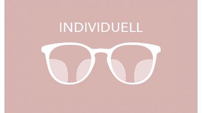 Individuelle Gleitsichtbrille