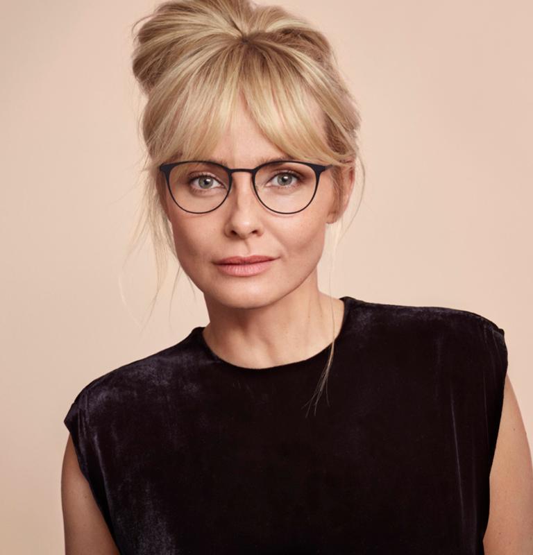 Glasögon dam
