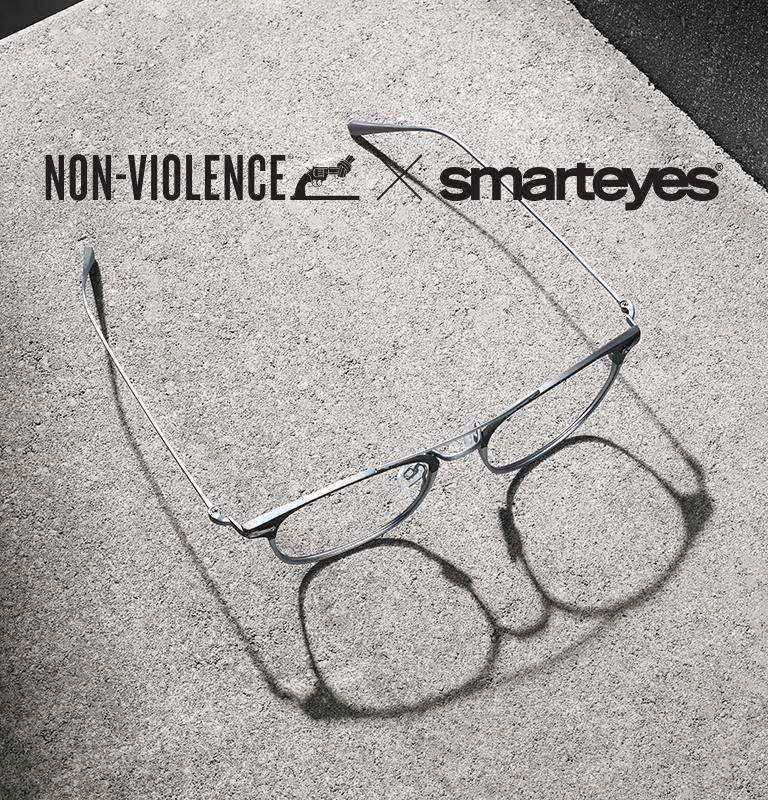 Non-Violence Project i samarbete med Smarteyes