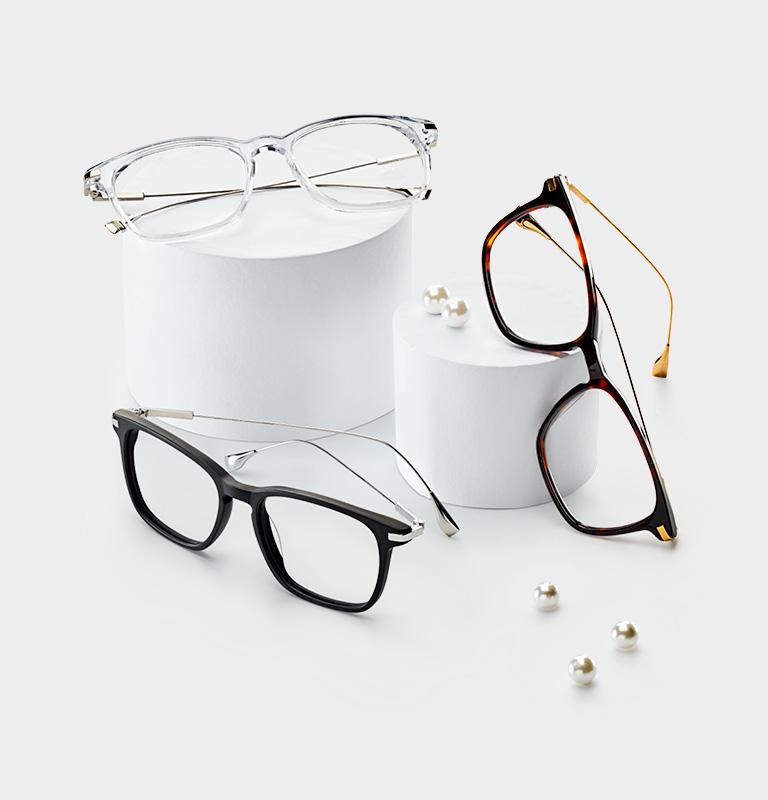 Smarteyes designade glasögonbågar