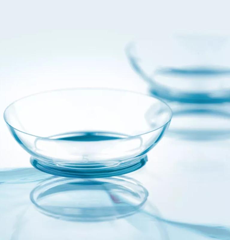 Skötselråd för kontaktlinser