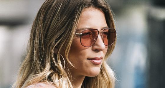 Solbriller med farvede glas viser din personlighed