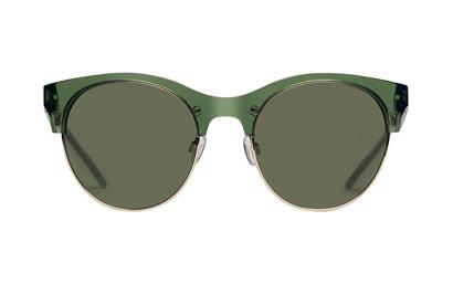 Solbrillen Sharp med grønt glas