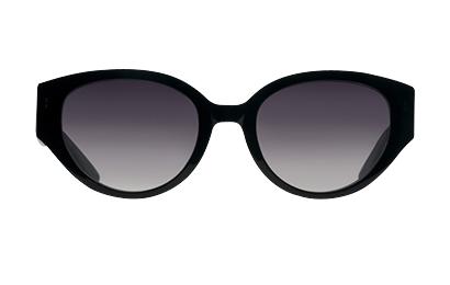 Solbrillen The Teaser findes i sort og skildepaddemønster