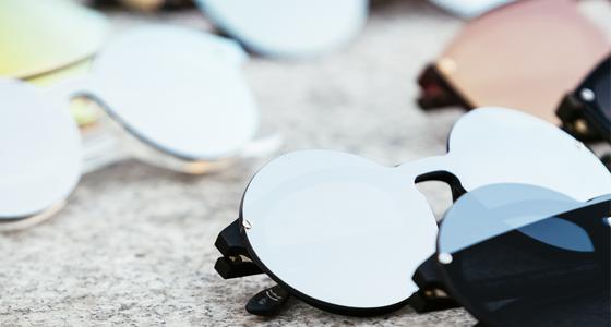 Solbriller med spejlglas er en klasiker